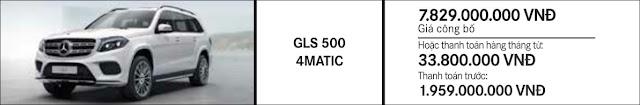 Giá xe Mercedes GLS 500 4MATIC 2019 tại Mercedes Trường Chinh