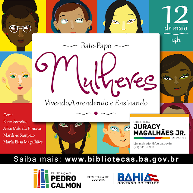Programação Cultural do mês de MAIO/2017 da Biblioteca do bairro