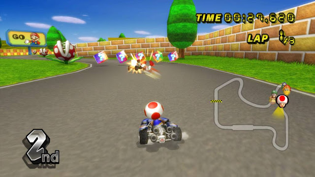 Mario Kart screenshot 1