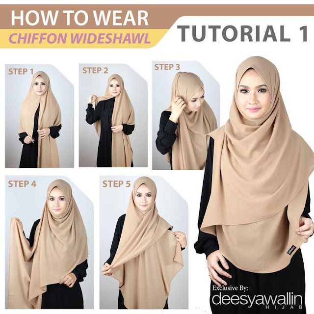 foto tutorial hijab style 3