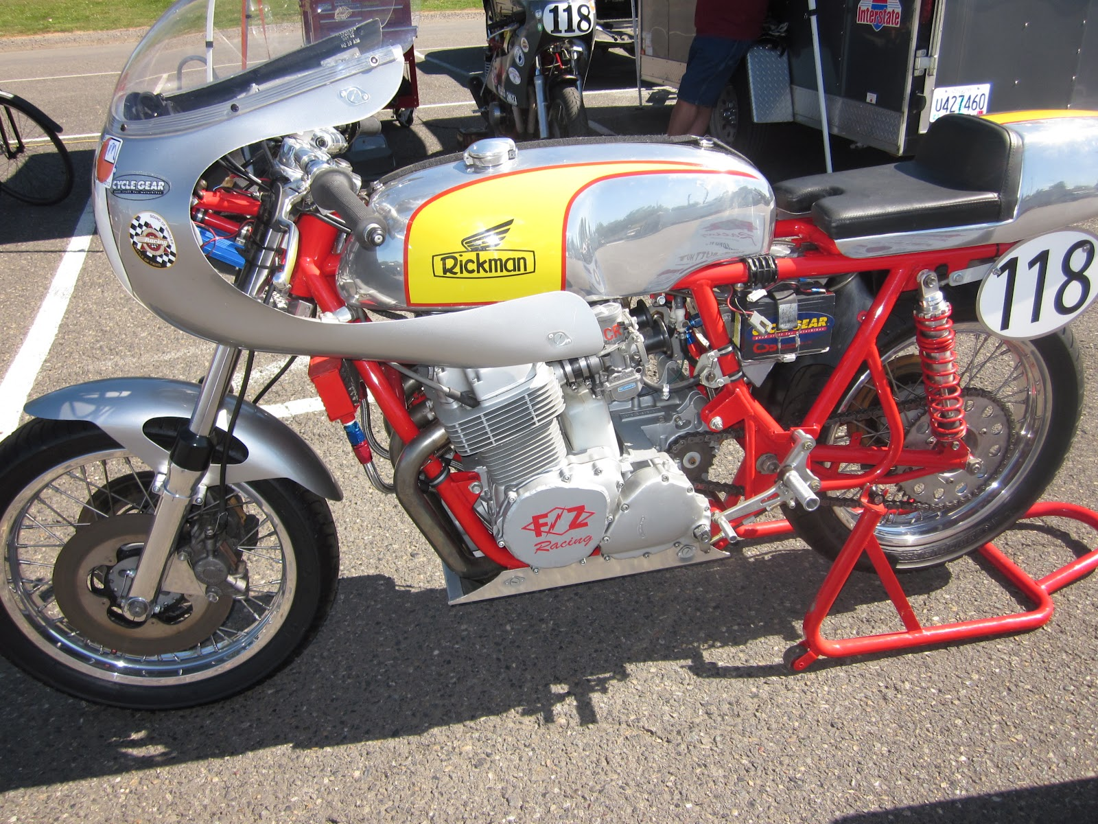 vintage honda road racing