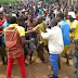 One killed as students of the Federal University of Agriculture Abeokuta protest insecurity on their campus...photos