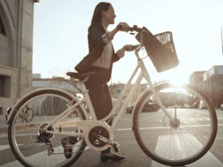 женский удобный велосипед для города