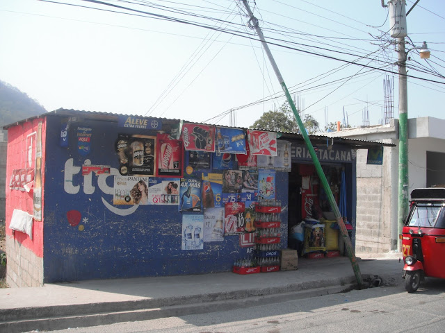 tienda corner store Panajachel Guatemala