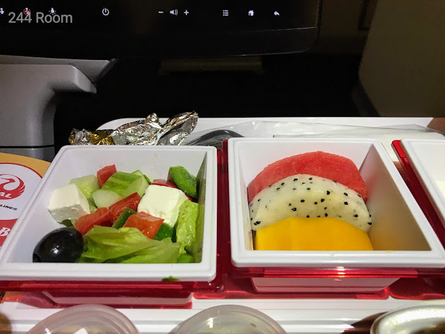 JL752 Flight meal 機内食4