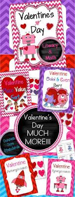 Pinterest Valentine Pins https://www.pinterest.com/firstgradeflair/valentines-day-elementary-resources/