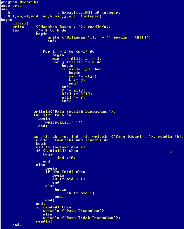 cadangan valas indonesia pada tahun 2004 contoh program binary search tree pascal