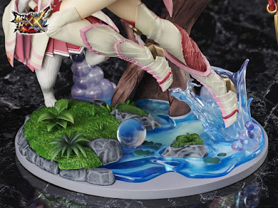 "Figuras: Preciosa figura F:Nex Hunter Mizutsune del ""Monster Hunter XX"" - Furyu"