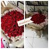 Hand Bouquet Mawar Merah 50 Tangkai 1608291509