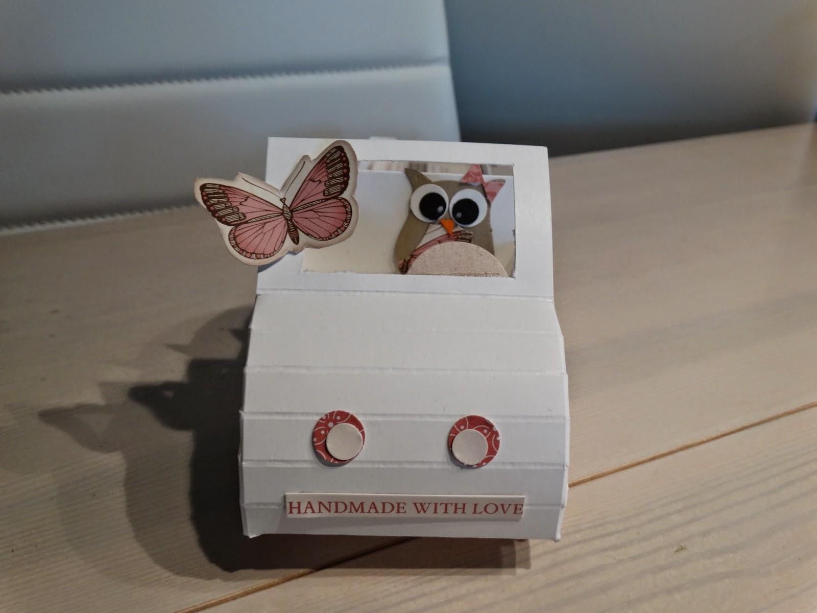 Handmade With Love Visitenkartenhalter Mal Anders