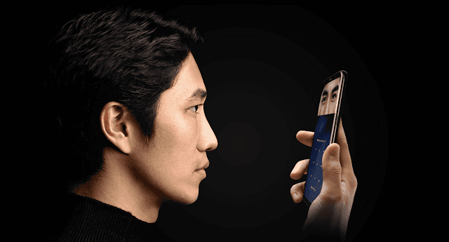 The facial recognition system in Samsung Galaxy S8+