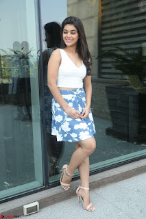 Yamini in Short Mini Skirt and Crop Sleeveless White Top 034.JPG