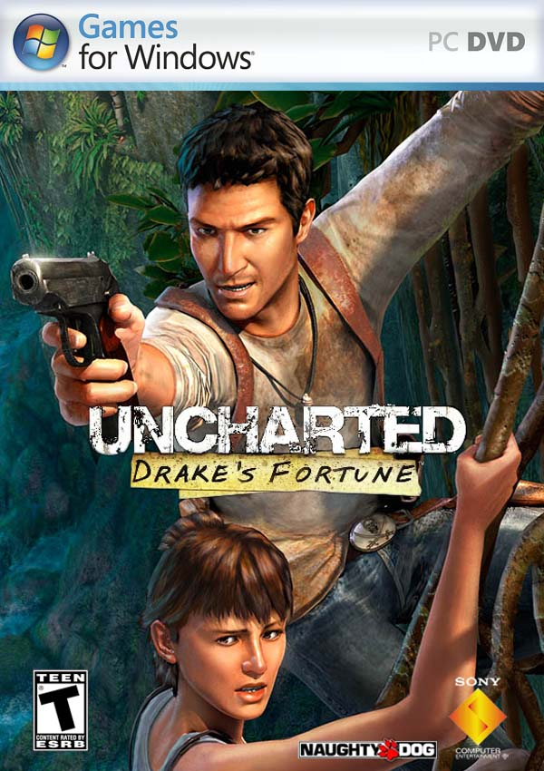 Uncharted Drake's Fortune Download Cover Free Game