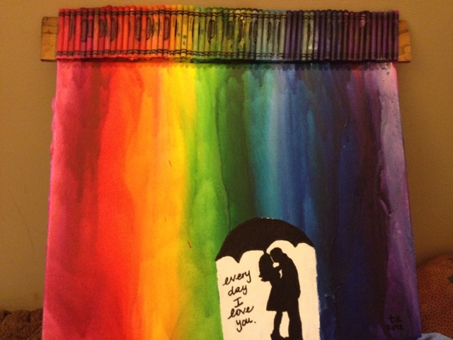 Cuz I Liked It Thought Jamesons Crayon Art
