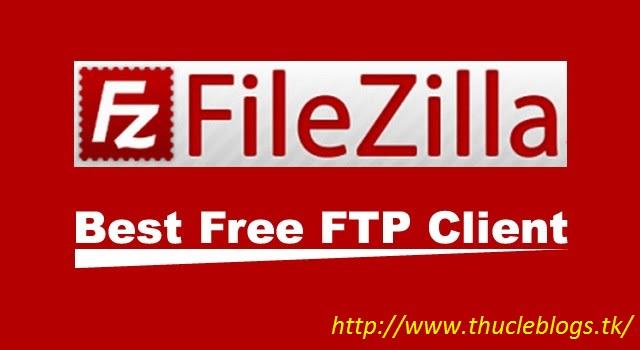 Upload file lên host qua giao thức FTP sử dụng FileZilla