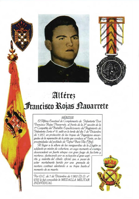 Alférez Francico Rojas Navarrete (Foto obtenida de Internet)