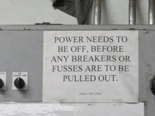 no power fusses