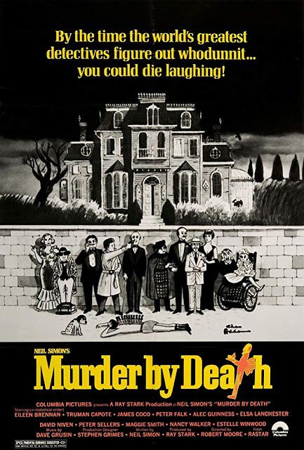 Murder by Death 1976 movie poster Neil Simon