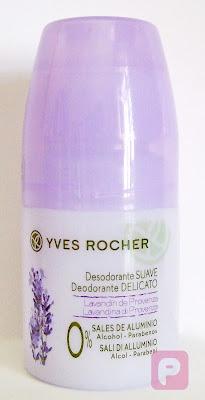 Yves Rocher - Deodorante delicato lavandina di Provenza