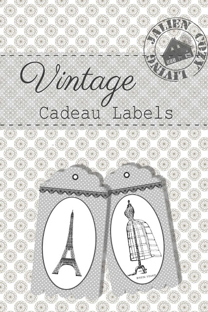 Gratis Printable  Cadeaulabels Jalien Cozy Living