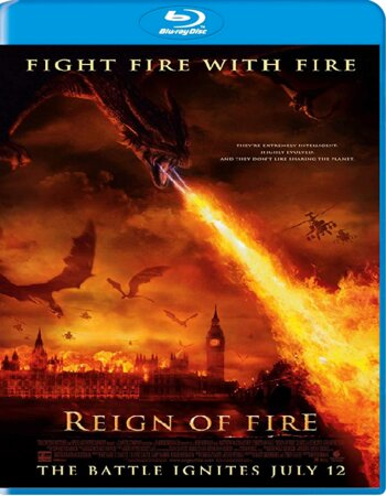 Reign Of Fire (2002) Dual Audio Hindi 720p BluRay x264 1.1GB ESubs Movie Download