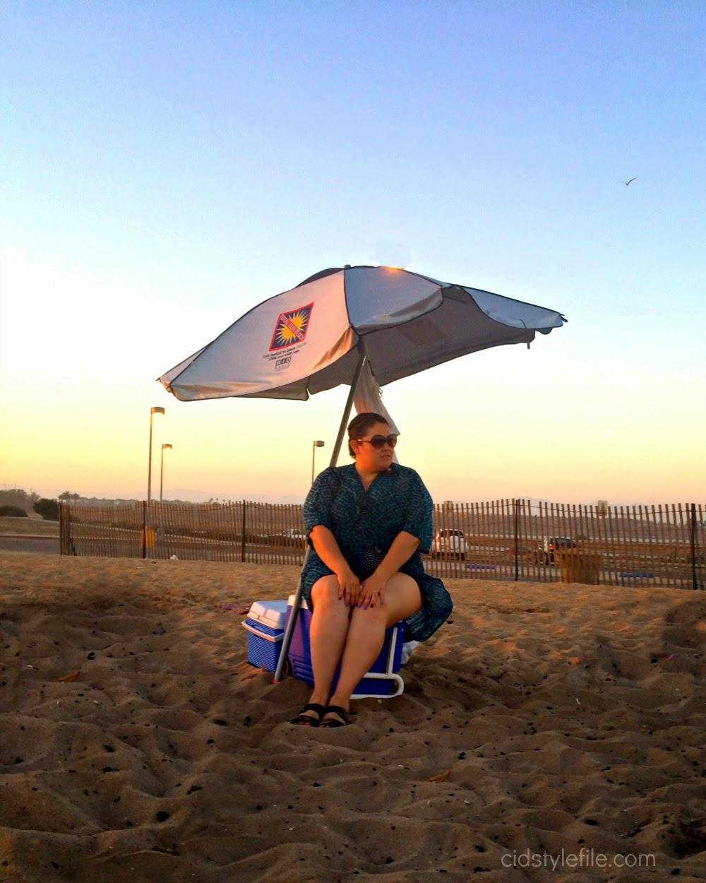Rio Beach Total Sun Block Umbrella Review Sponsored Day
