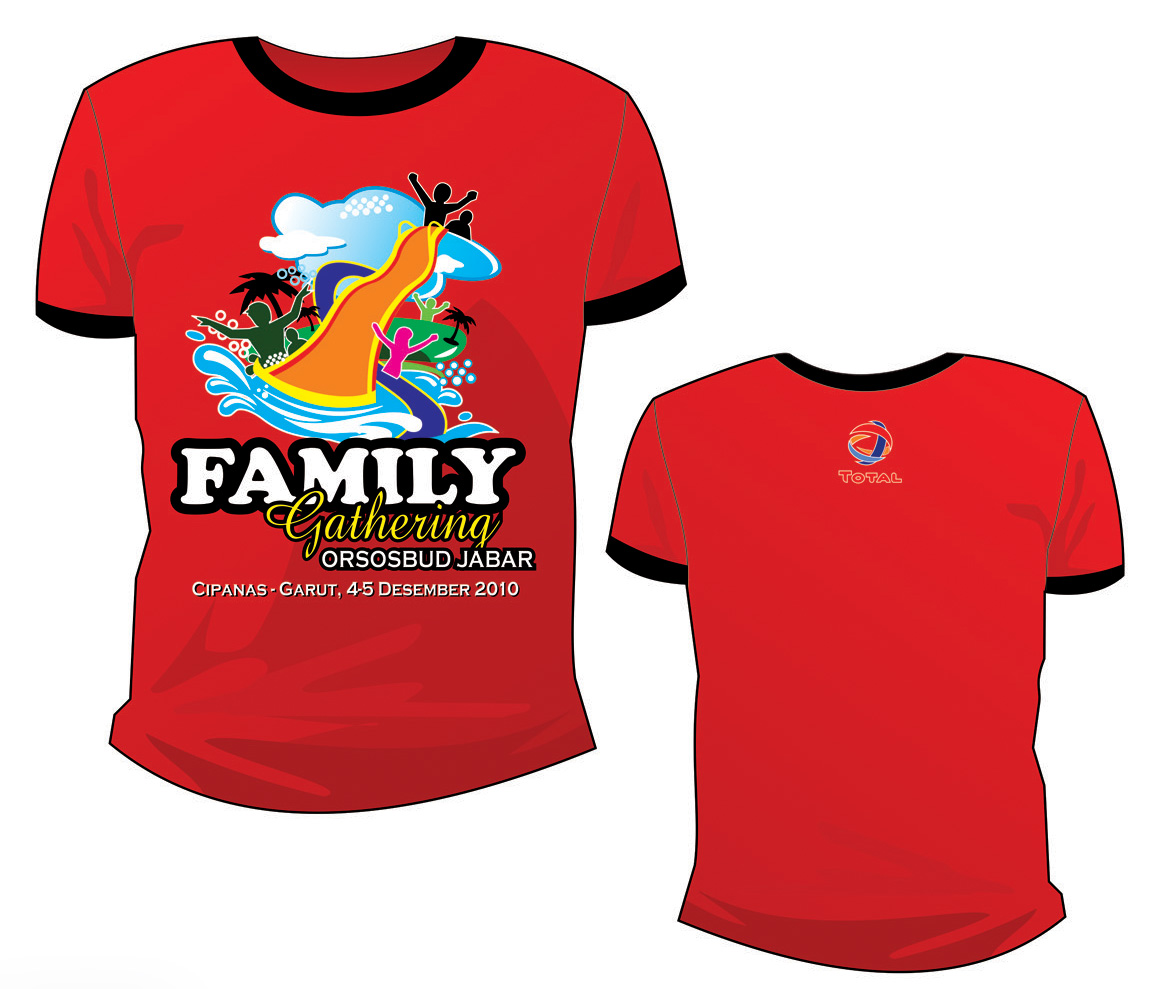 Model Kaos Family Gathering dan Event Outing Terbaru