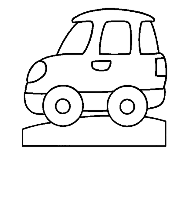 5 coloriages de voitures en ligne