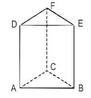 Rumus volume prisma tegak segitiga