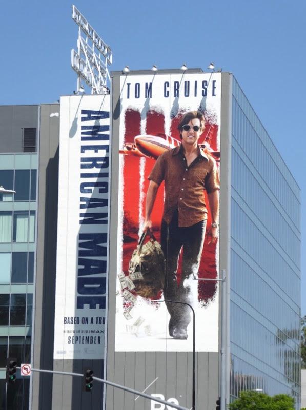 American Made movie billboard