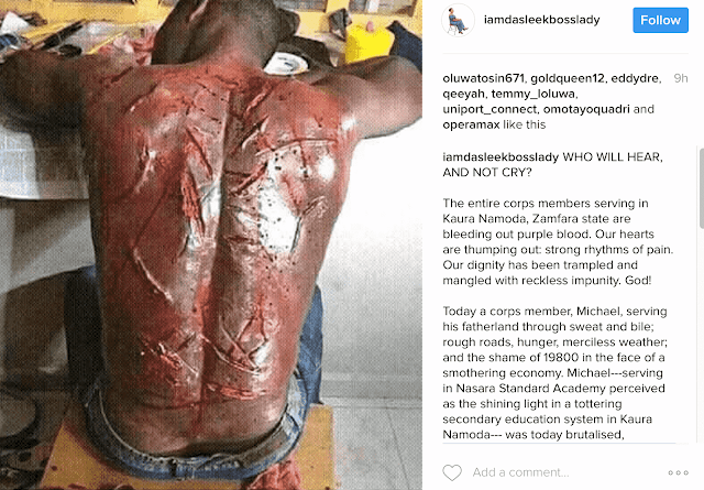 Police officer slaps corp member in Zamfara, dNYSC reacts