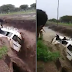 Passengers fight for their lives as flood drowns their bus