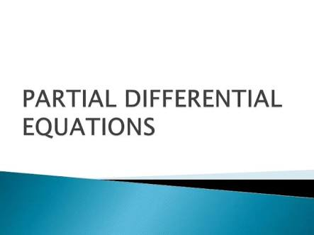 PARTIAL DIFFERENTIAL EQUATIONS BY RISING STAR ACADEMY
