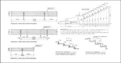 Construcción de Graderías y Prefabricación