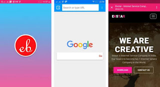 تحميل أسرع متصفح Ekstar Browser PRO Apk للاندرويد