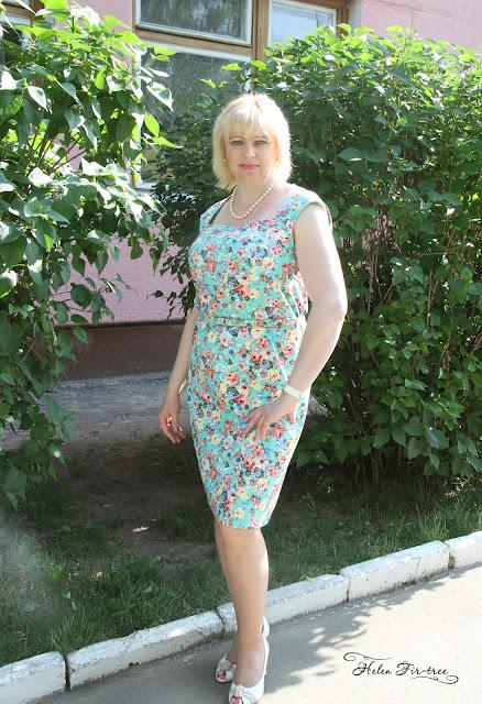 Helen Fir-tree винтажное платье vintage dress