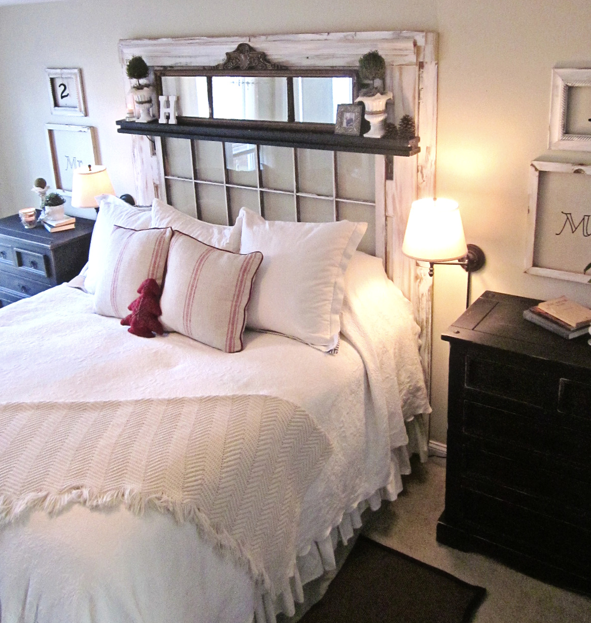 Down to Earth Style Master Bedroom Makeover