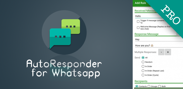AutoResponder for Whatsapp Pro v0.7.6 Apk Terbaru (Full Patched)