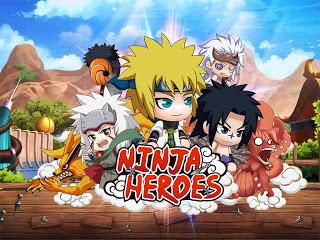 Download Ninja heroes Mod Apk v1.1.0 (Mega MOD+GOLD)