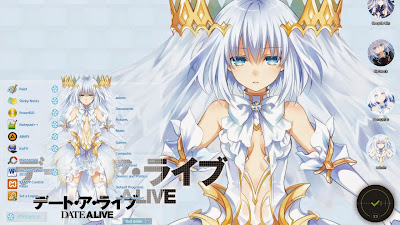 Date A Live - Tobiichi Origami Windows 7 Theme
