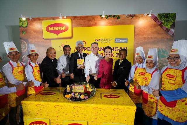 MAGGI® Dan KPM Mulakan Pencarian Chef Muda Berbakat  Melancarkan Pertandingan Memasak Sekolah Menengah MAGGI® Ke-23