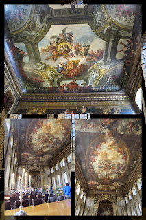 Maritime Greenwich: Painted Hall at the Old Royal Naval College
