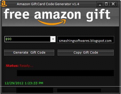 Amazon gift card generator v1 4 2013 no survey direct download