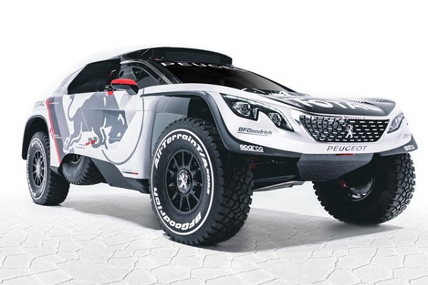 peugeot mostr al 3008 dkr con el que buscar ganar el dakar 2017 video monkey motor. Black Bedroom Furniture Sets. Home Design Ideas