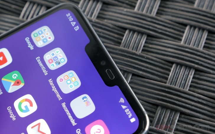 The LG G7 ThinQ Notch Display