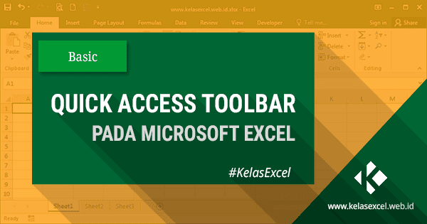 Quick Access Toolbar Pada Microsoft Excel