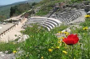 Roman ruins - north of Israel