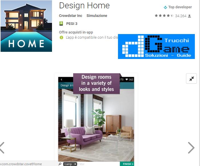 Trucchi Design Home Mod Apk Android v1.00.10