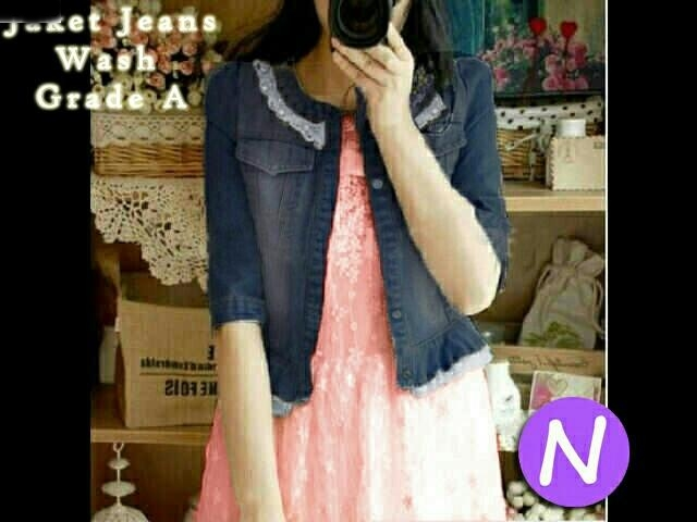Jual Outer / Cardigan / Knit Jaket Renda Import - 12623