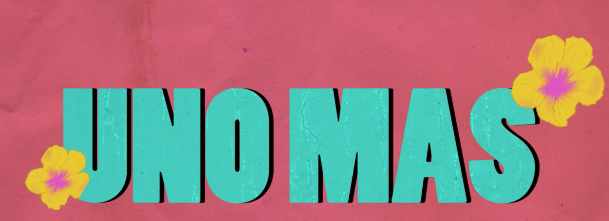 NORE X PHARRELL - UNO MAS (LYRIC VIDEO)